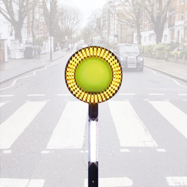 Day Bright, Zebra crossing alternative Belisha Beacon