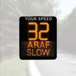 Welsh DSD Speed Display Sign